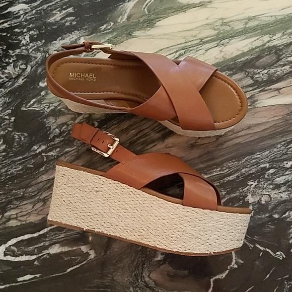 379e91cac9e1 MICHAEL Michael Kors Jodi Wedge Sandals
